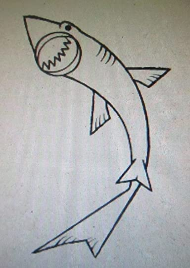 how to draw sharks book