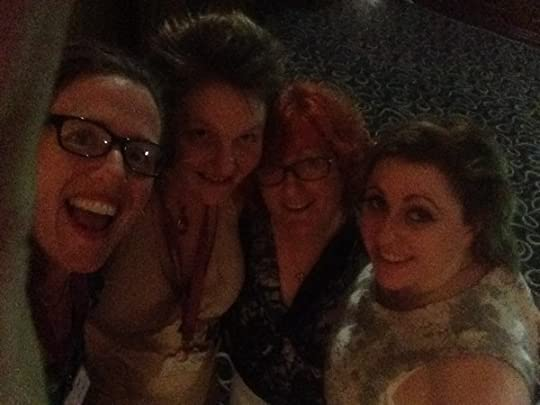 dance crew: Jo, Temple, Clare, Helen