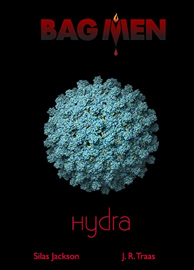 Hepais B Virus Isolated On A Black Background