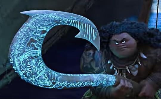 I 39 m hooked interestingasfuck for Moana fish hook