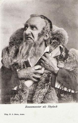 Louis Bouwmeester as Shylock