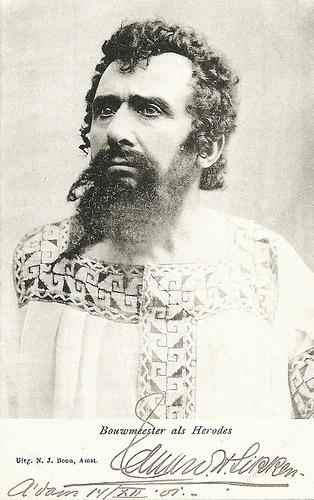 Louis Bouwmeester as Herod(es)