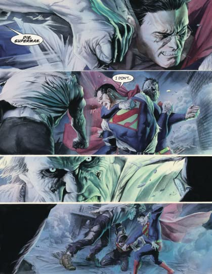 Watching Superman Get Mercilessly Beat Up By Solomon Grundy And Bizarro Who Are Both Later Joined Metallo Parasite Doesnt Much Demonstrate The