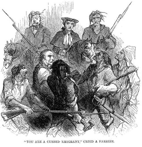 You Are A Cursed Emigrant Cried Farrier John McLenan Dickenss Tale Of Two Cities