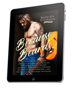 Because Beards Cover Reveal benefitting The Movember Foundation