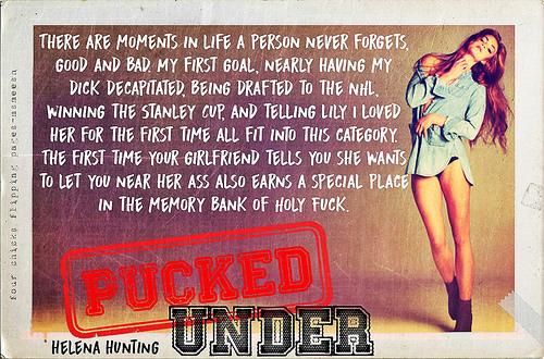 #PuckedUnder