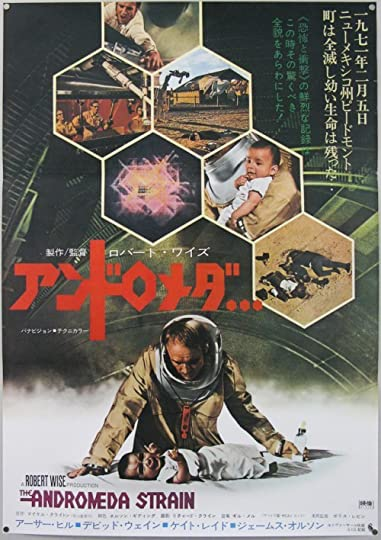 a review of the andromeda strain by michael crichton The andromeda strain miniseries  this year witnessed the publication of michael crichton's  crichton wrote the andromeda strain while he was a graduate.