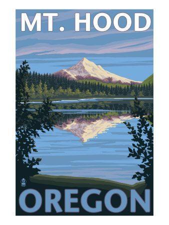 Mt. Hood, Oregon: