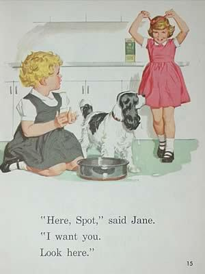 All clear, dick jane spot agree