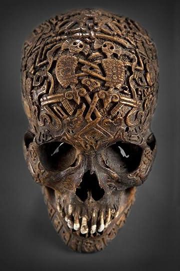 img: Scrimshawed Skull