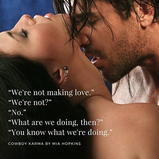 Cowboy Karma - Mia Hopkins: