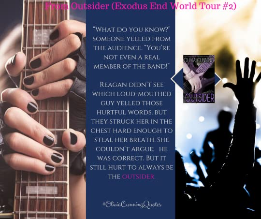 Outsider (Exodus End World Tour Book 2) by Olivia Cunning