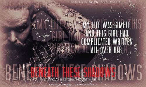 #BeneathTheseShadows1