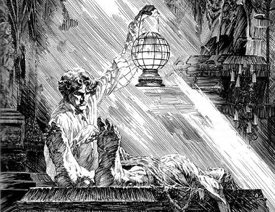 Story sex ghost demon blindfold tea