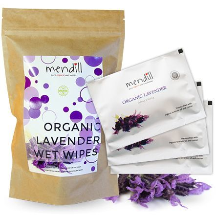 lavender wipes: