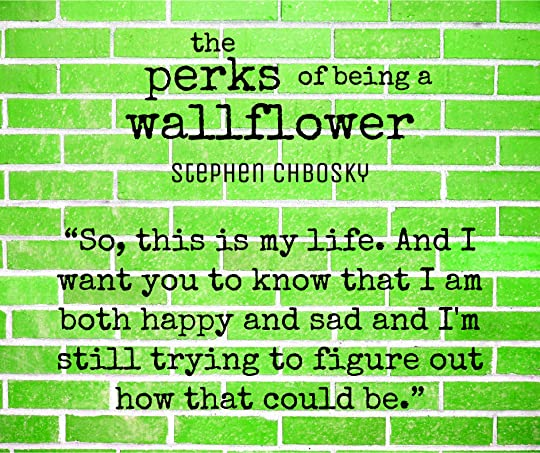 The Perks Of Being A Wallflower Stephen Chbosky Epub