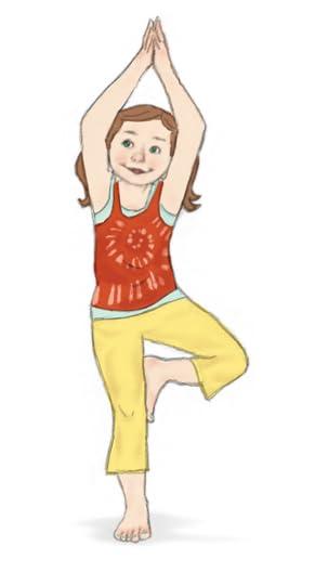 Tree Pose for Kids | Kids Yoga Stories