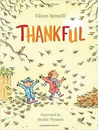 Thankful book by Eileen Spinelli