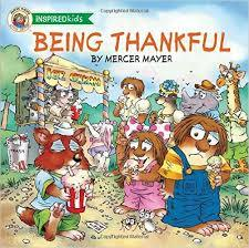 Being Thankful book by Mercer Mayer