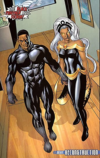Its Marvel S Then Newly Married Storm And The Black Panther