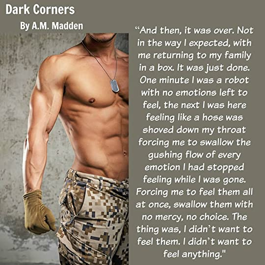 Dark Corners (True Heroes, #3) by A.M. Madden