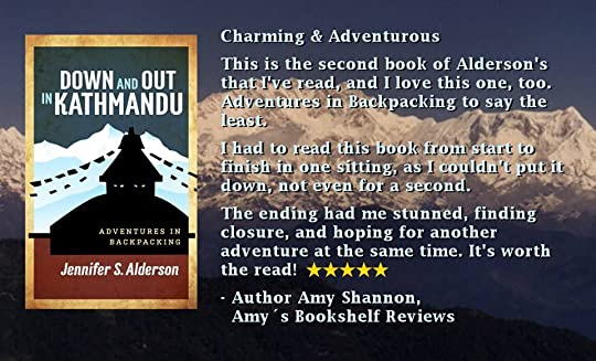 Amy's Bookshelf Reviews Down and Out in Kathmandu