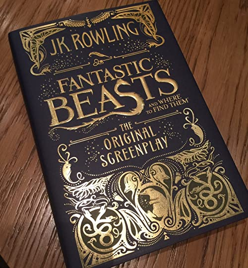 Fantastic beasts and where to find them the original screenplay by and the same those who made the potter series magical cinematic experience visually theyre here too to make this series fantastic cinematic too fandeluxe Choice Image