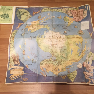 Disc World Map.The Discworld Mapp Being The Onlie True And Mostlie Accurate Mappe