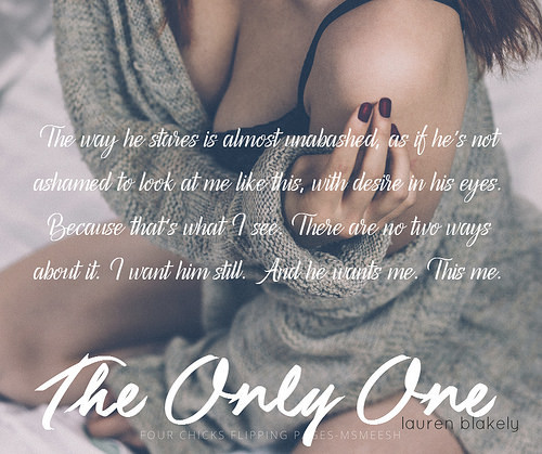 #TheOnlyOne_laurenBlakely