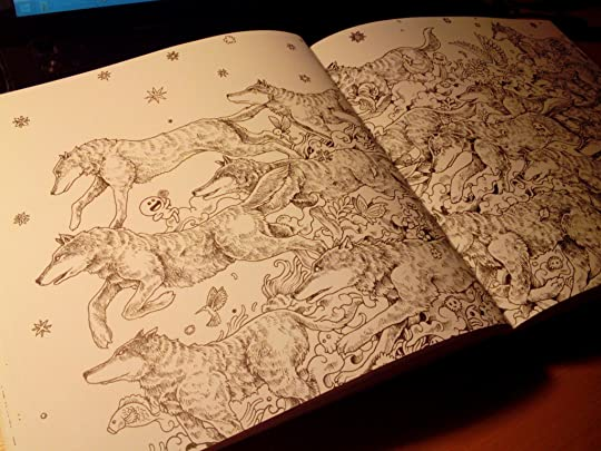 Animorphia An Extreme Colouring And Search Challenge By Kerby Rosanes