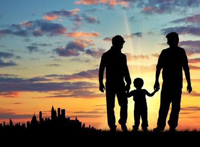 Afbeeldingsresultaat voor gay family silhouette