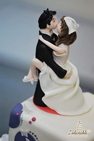 wedding cake topper: