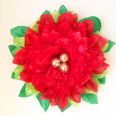 Maria nobles blog tissue paper pointsettia paper flower tutorial reading about the poinsettia flowers i found this old mexican legend about how poinsettias and christmas come together it goes like this mightylinksfo