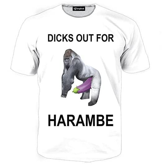 """6b01148e93 Happily, my flirtation with M99 led to another discovery, about the  internet meme """"dicks out for Harambe"""". A brief search online will confirm  that you can ..."""