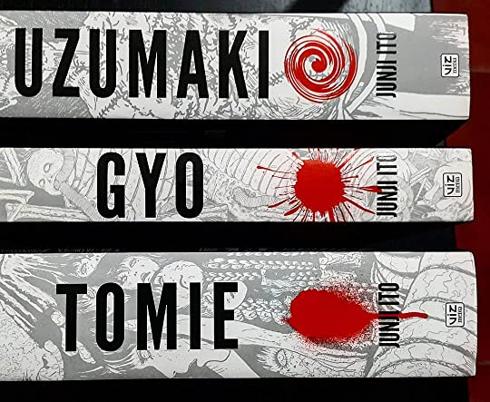 Viz Media's Junji Ito collections.