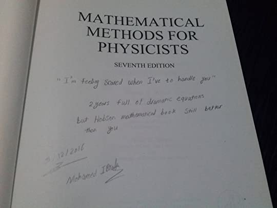 Mathematical methods for physicists by george b arfken my first page of the book fandeluxe Image collections