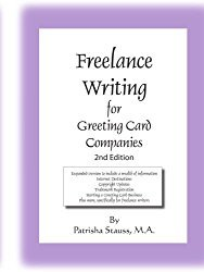 Kate harpers blog the freelance writing for greeting card companies this book targets important areas a writer needs to know in regards to being self employed as well as m4hsunfo