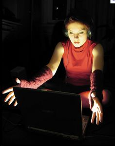 Image result for red hair computer hacker