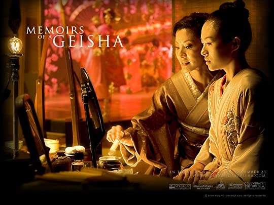 memoirs of a geisha by arthur golden  okiya a geisha house where she endures harsh treatment from everyone in spite of the problems she had to face sayuri became the beautiful geisha