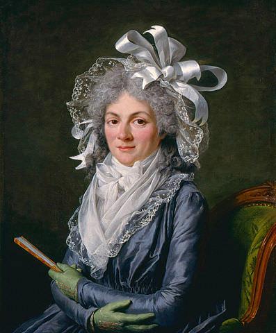Madame de Genlis by Adélaïde Labille-Guiard, 1790