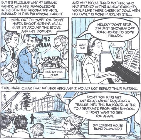 Alison Bechdel Fun Home A Family Tragicomic - Free Software