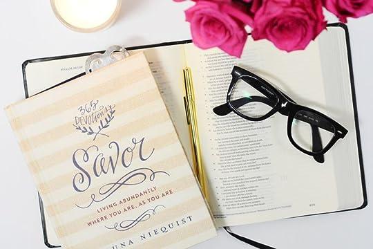Shauna Niequist's Savor by paperandglam.com