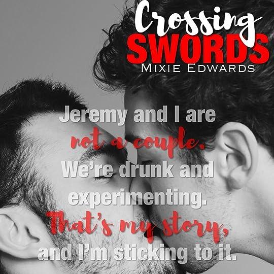 Homo guys cross swords