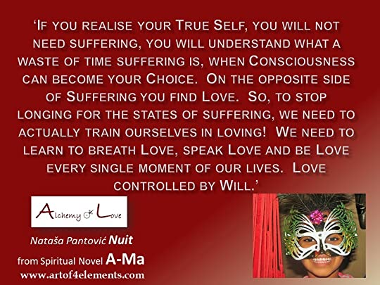 what is love: love and suffering from Ama Alchemy of Love by Nuit