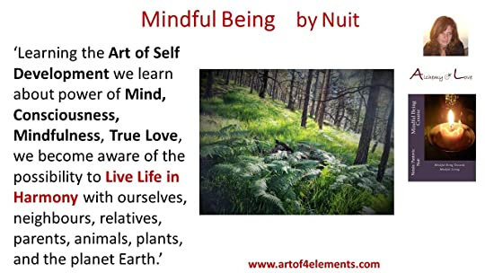 Mindful Being quote about spiritual growth by Nataša Pantović Nuit