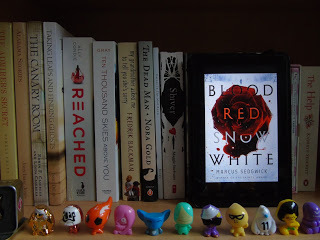 book review on blood red snow Finnish author simukka creates a tough, self-sufficient heroine in 17-year-old lumikki andersson in this first book in the snow white trilogy the novel begins starkly, with a young woman's .