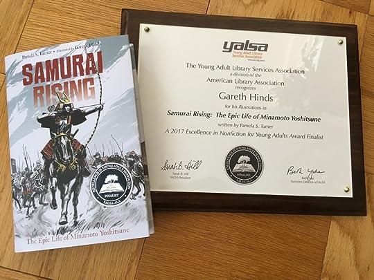 YALSA Nonfiction Award finalist Samurai Rising!