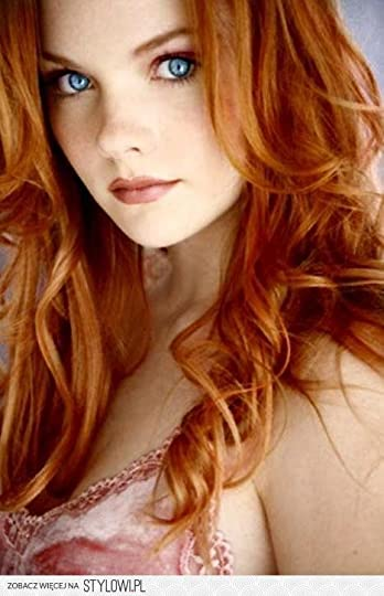 beautiful red hair: