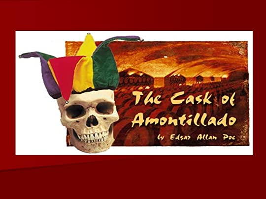 The Cask Of Amontillado Drawing With Quote