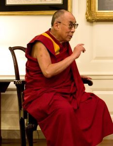 His Holiness the Dalai Lama practices tonglen daily.